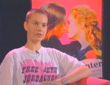 Nicki on Dyke TV